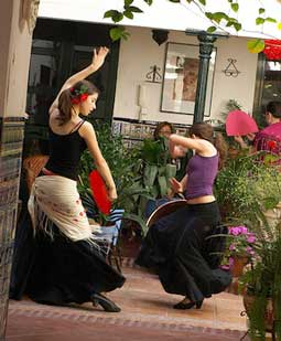 Flamenco in Andalusien